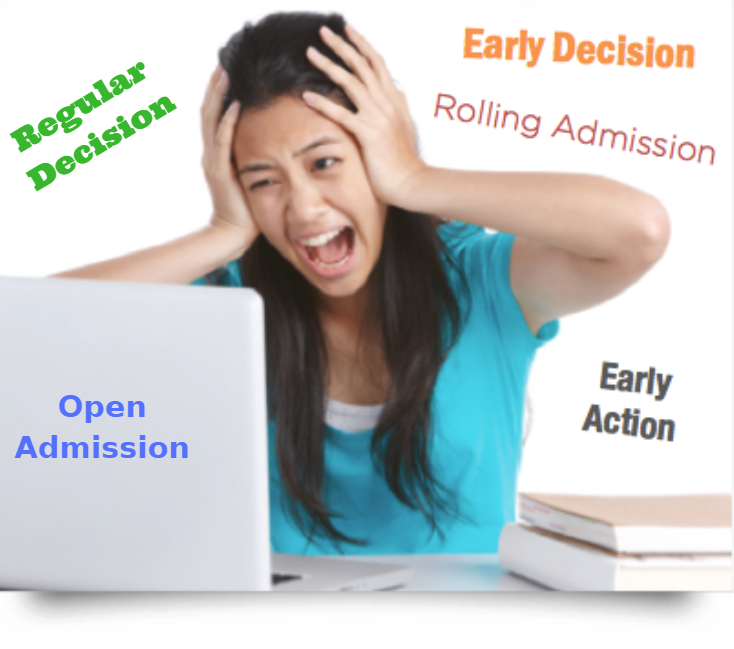 early college admission versus other admission options